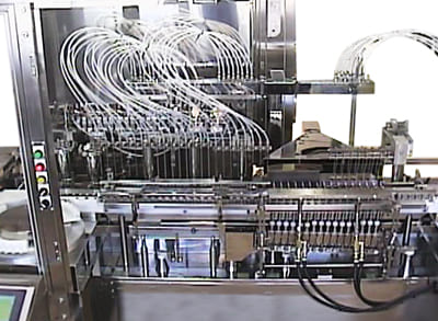 アンプル充填溶閉機
